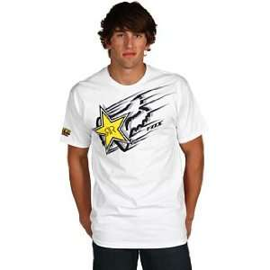 Fox Racing Rockstar Zoom s/s Tee White S Automotive