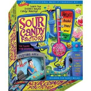 Scientific Explorers Sour Candy Factory Kit  (A256)