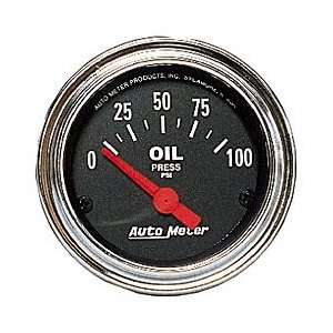 Auto Meter 2522 0 80 OIL PRESSURE GAUGE Automotive