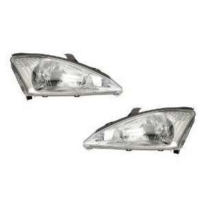 Ford Focus Headlights With Out SVT Package Headlamps Driver/Passenger
