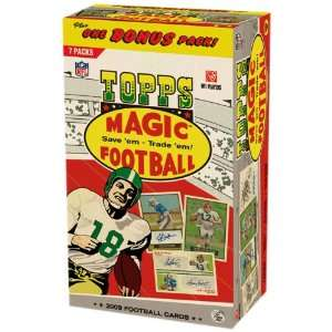 2009 Topps Magic NFL Football Trading Cards (8 Packs)
