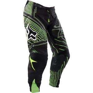 Fox Racing Platinum Vamplifier Pants   30/Black/Green