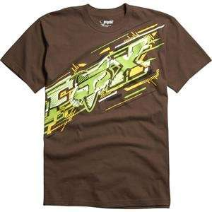 Fox Racing Flare T Shirt   X Large/Cocoa Automotive