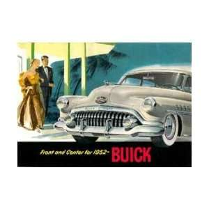 1952 BUICK Sales Brochure Literature Book Piece