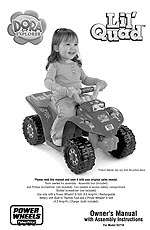 Power Wheels Fisher Price Dora the Explorer Lil Quad   Power Wheels