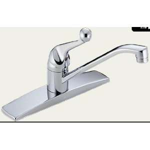 Delta 100 TP Single Handle Tract Pack Kitchen Faucet