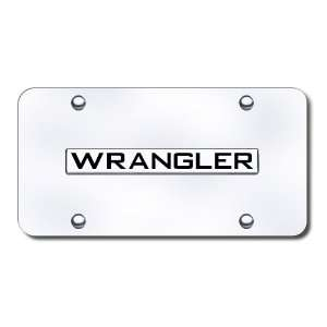 Jeep Wrangler Logo Front License Plate Automotive