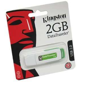Kingston 2GB DataTraveler USB 2.0 Flash Drive in Retail