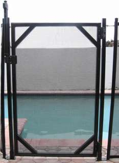 WATER WARDEN 5 SELF CLOSING POOL SAFETY FENCE GATE