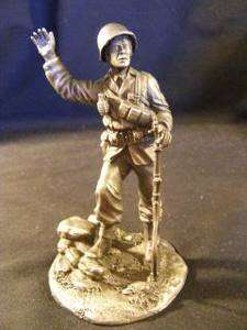 FRANKLIN MINT, THE AMERICAN PEOPLE THE G.I. SCULPTURE