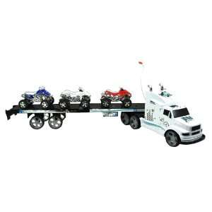 6055D Modern City RC Super Power Truck Trailer Toy Toys & Games