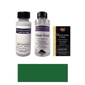 2 Oz. Kingswood Green Metallic Paint Bottle Kit for 1976