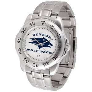 NCAA Nevada Wolf Pack Sport Steel Watch