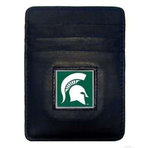 NCAA Michigan State Spartans Money Clip/Cardholder Sports