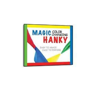 Magic Makers Color Changing Hanky   Easy Magic Trick with