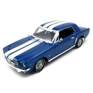 1964 1/2 Ford Mustang Blue American Graffiti 118 Toys