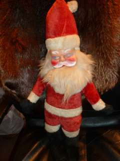 FACE SANTA DOLL BEAR FROM OLD GUND RUSHTON GROUP IM SELLING