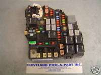 03 07 Cadillac CTS V OEM Engine Compartment Fuse Box