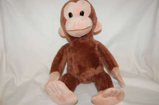 15 Plush Applause Curious George Stuffed Monkey Animal