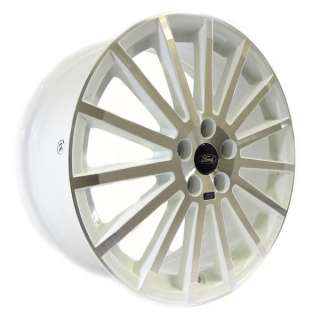 Genuine Ford Focus RS Alloy Wheel / Wheels 18 White & Machine Silver