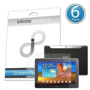 Screen Protectors for Samsung Galaxy Tab 10.1 (6 Pack) ANTI GLARE