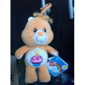 Care Bears   5 Birthday Bear Keychain Plush   20th