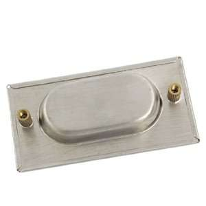 Rectangular Recessed Flush Pull Sliding Door Cabinet Drawer Handle