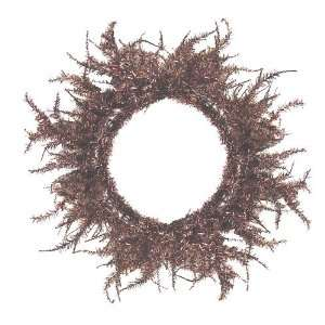 Copper Laser Tinsel Artificial Christmas Wreath 30