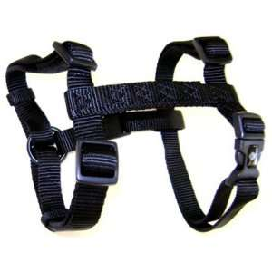 Hamilton Adjustable Comfort Nylon Dog Harness, Black, 1 x