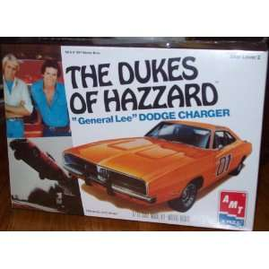 Dukes of Hazzard Dodge Charger  General Lee Model Kit Toys & Games
