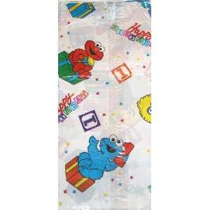 Sesame Street 1st Happy Birthday Plastic Table Cover