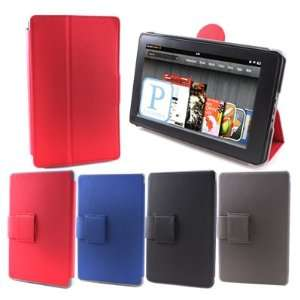 Flip Folio Hard Case Cover Stand for  Kindle Fire 7 Inch Tablet