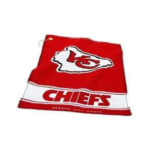 Team Golf NFL Kansas City Chiefs   Woven Towel Sports