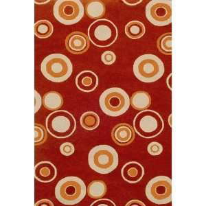 Red Indoor/Outdoor Rug   5 x 8   HRCRG5   5 x 8
