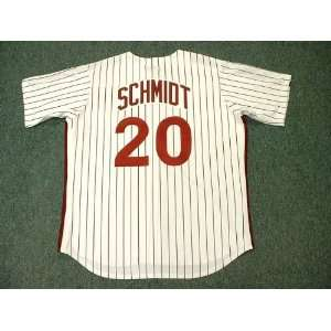 MIKE SCHMIDT Philadelphia Phillies 1980 Majestic Cooperstown Throwback
