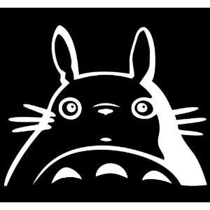 My Neighbor Totoro Studio Ghibli Vinyl Die Cut Decal Sticker 5 White