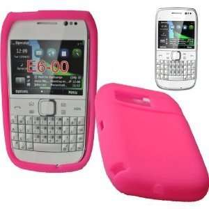 Mobile Palace  Pink silicone skin case cover pouch with 3
