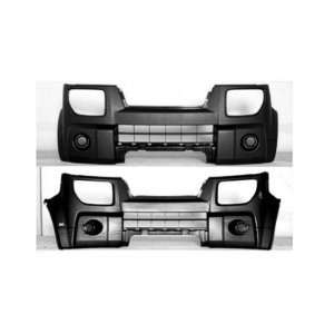 DK5 Honda Element Black Replacement Front Bumper Cover Automotive