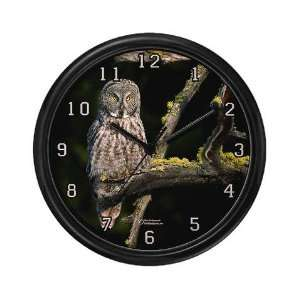 BEST SELLER Wizard of the Ancient Forest Owl Wall Clock by