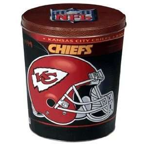 NFL Kansas City Chiefs 3 Gallon Tin *SALE*