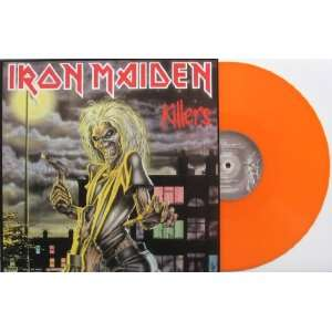 Iron Maiden  KILLERS  New U.K. Import Heavy ORANGE Vinyl