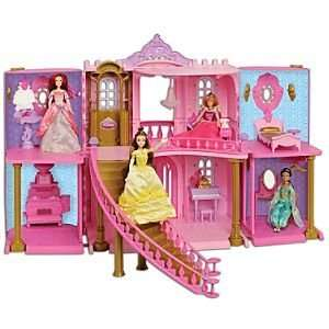 Disney Princess Enchanted Castle Palace Dollhouse Play Set  Toys