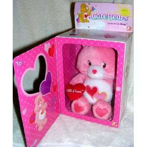 Care Bears Happy Valentines Day Love a Lot Bear Toys & Games