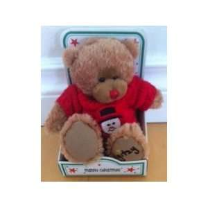 Merry Christmas Gitzy Teddy Bear By Beverly Hills Teddy