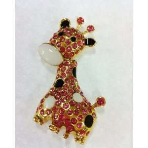 Shiny Full Crystal Diamonds Lovely Giraffe Style USB Flash