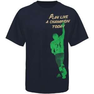 NCAA adidas Notre Dame Fighting Irish Champion Shadow T