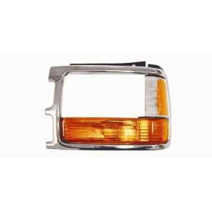 Dodge Dakota Pickup Truck Park/Signal Lamp Kit (with Chrome Bezel