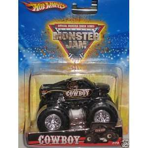 Hot Wheels Monster Jam 2010 * COWBOY * # 7/75, 164 Scale