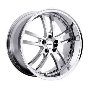 TSW Cadwell (Chrome) Wheels/Rims 5x100 (1780CAD355100C72) Automotive