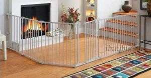 North States Metal Baby Pet Play Yard Gate Superyard